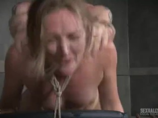 Rough asian anal video