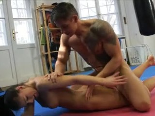 Asian girl with big black cock